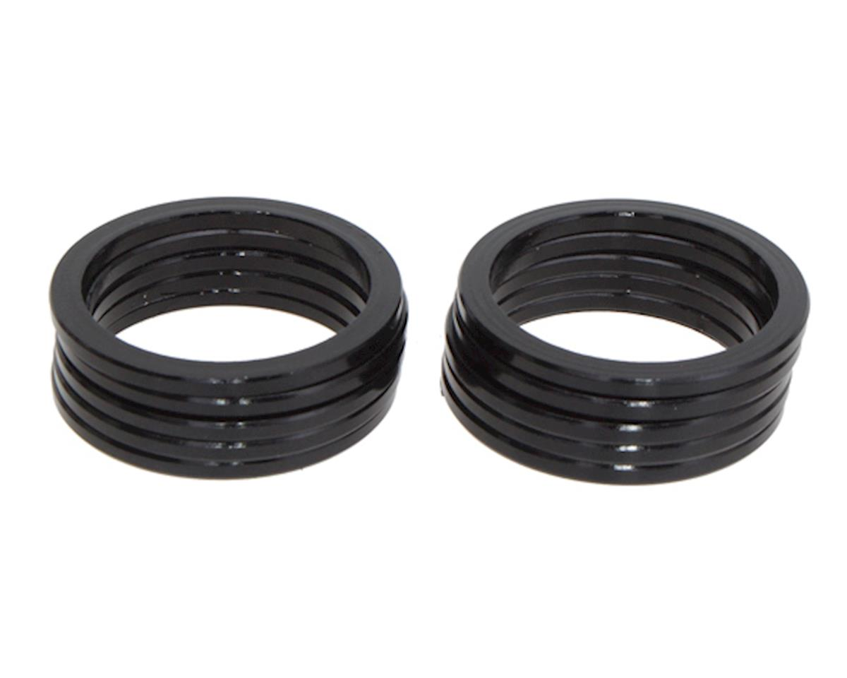 "Vuelta Aluminum Headset Spacers (Black) (1-1/8"") (2.5mm)"