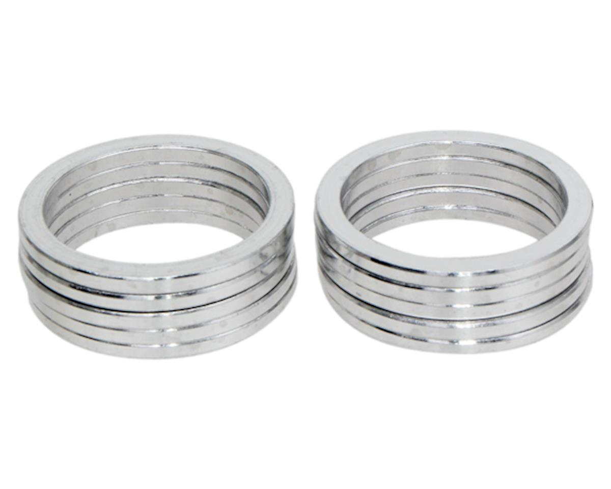 "Vuelta Aluminum Headset Spacers (Silver) (1-1/8"") (2.5mm)"