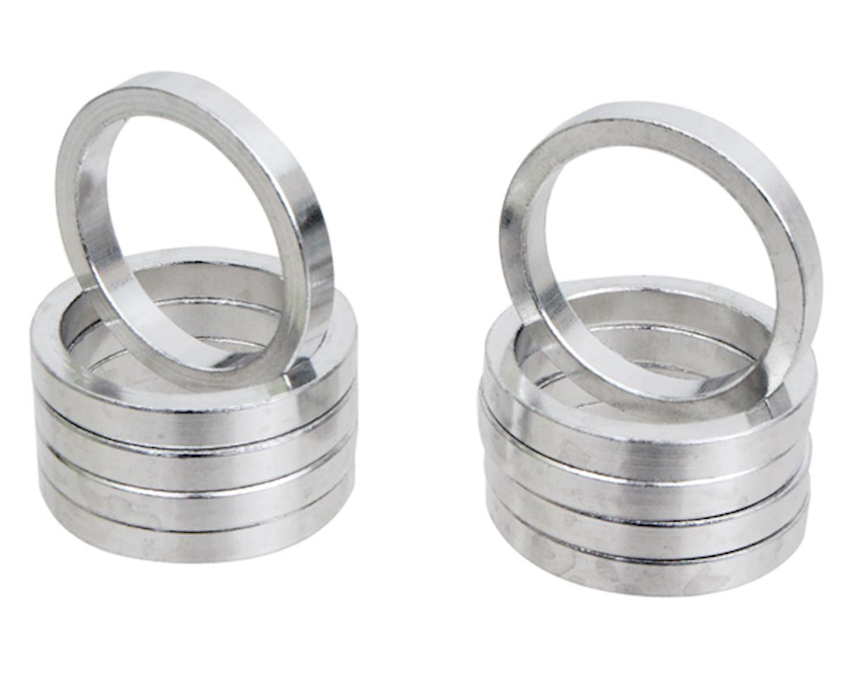 "Vuelta Aluminum Headset Spacers (Silver) (1-1/8"") (5mm)"