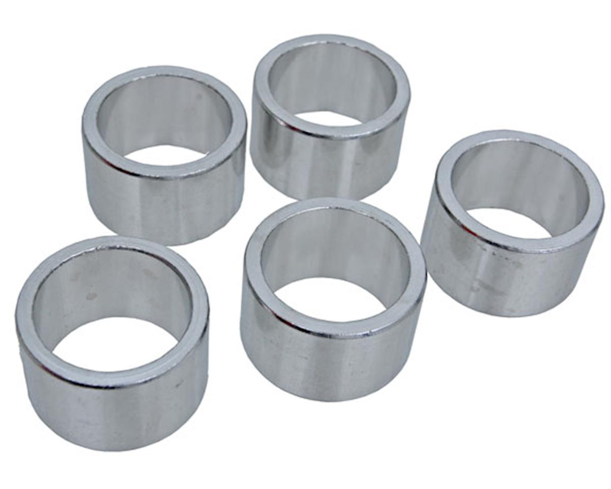 "Vuelta Aluminum Headset Spacers (Silver) (1"") (20mm)"