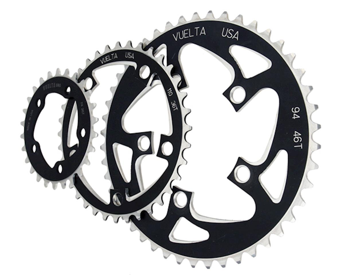 Vuelta Flat Ring 26T/74mm Black