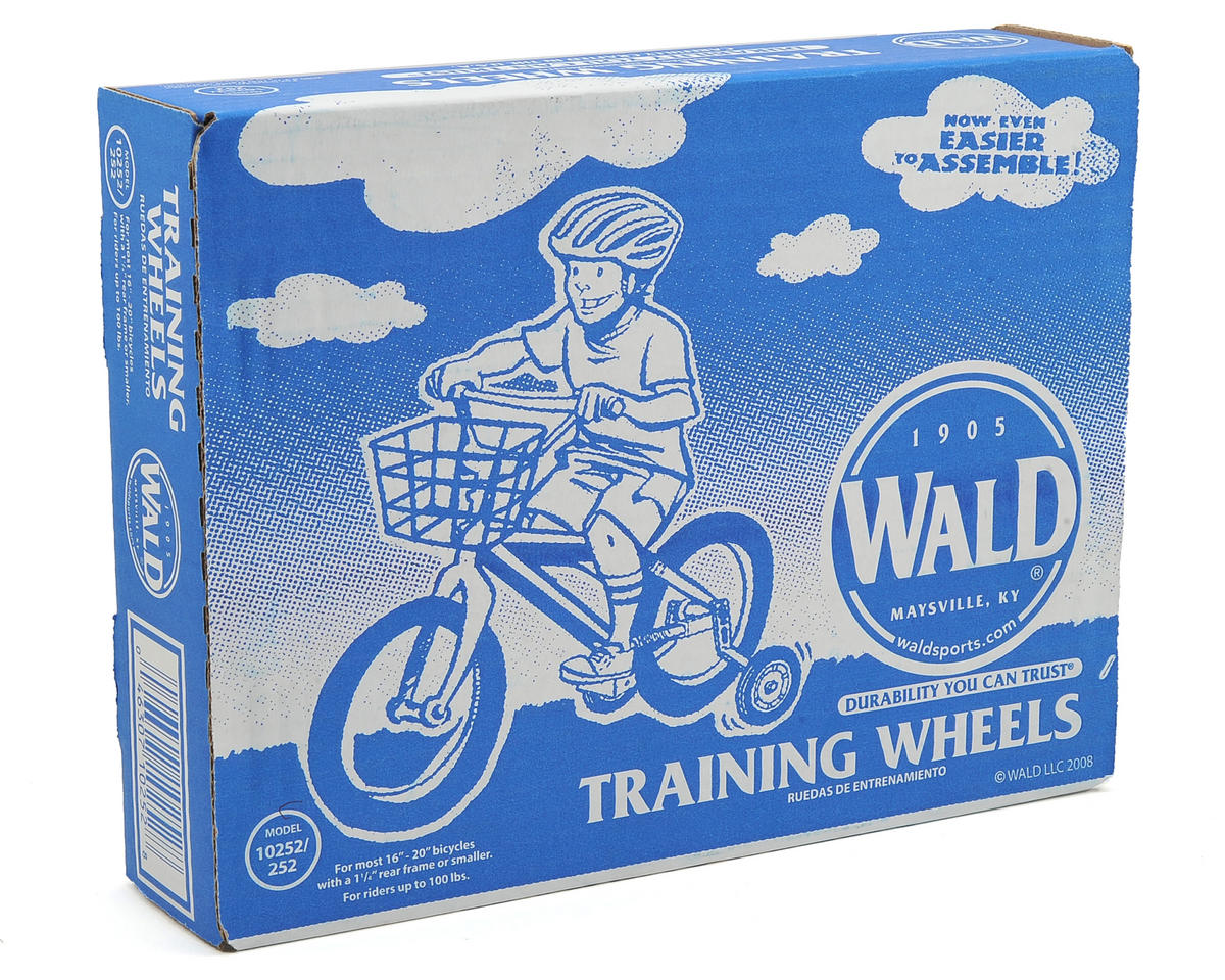 "Wald Training Wheels 10252 (16-20"") (For up to 1.25"" Chainstay)"