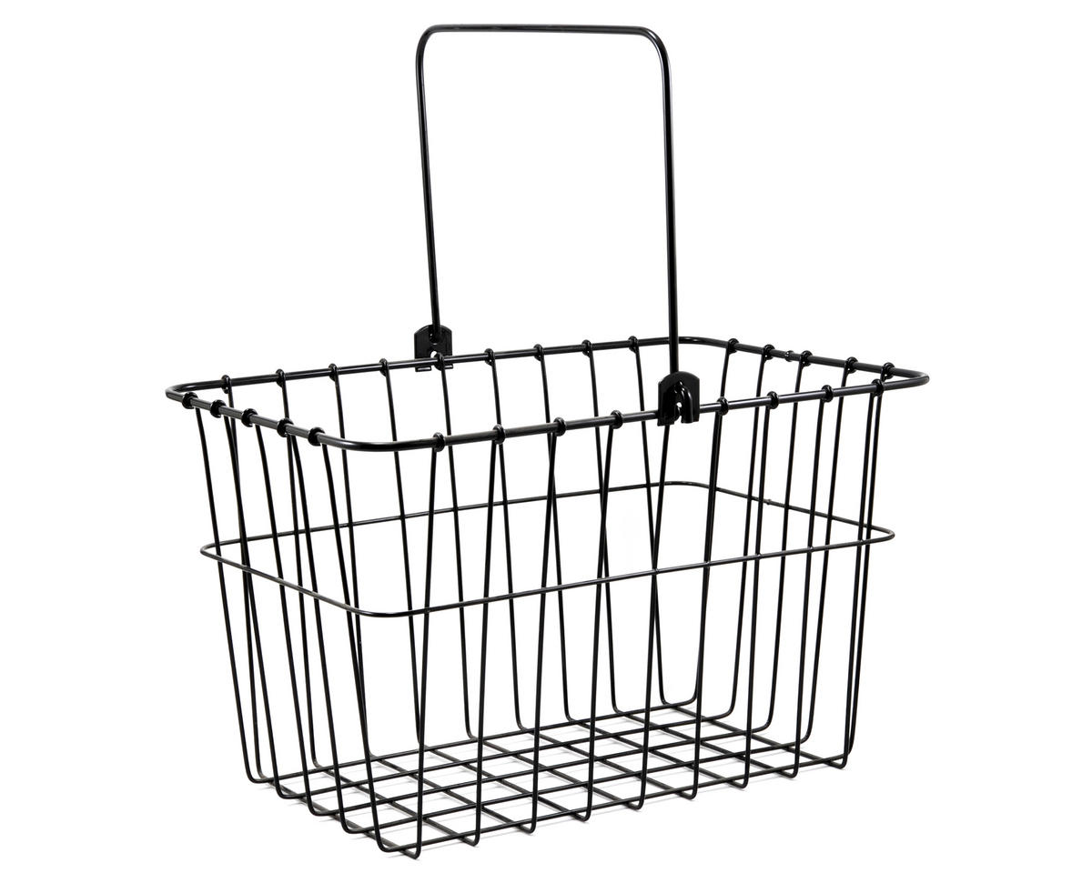 133 Standard QR Front Bike Basket (Black)
