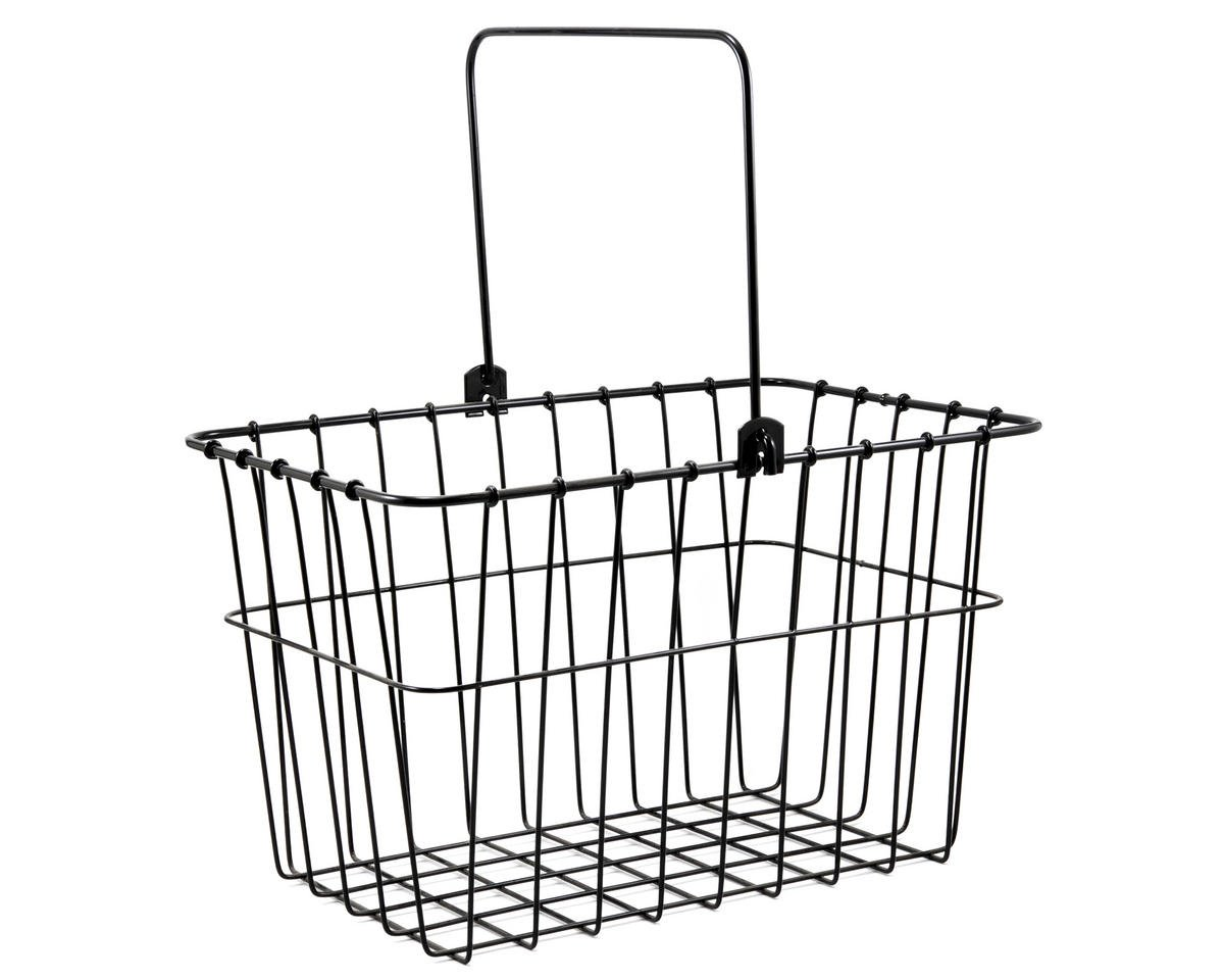 Wald 133 Standard QR Front Bike Basket (Black)