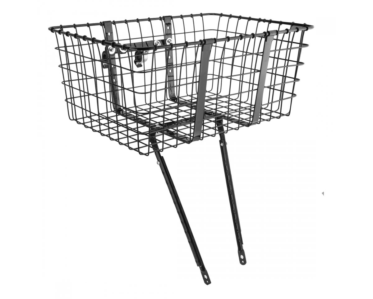 Wald 157 Front Giant Delivery Basket (Gloss Black) | relatedproducts