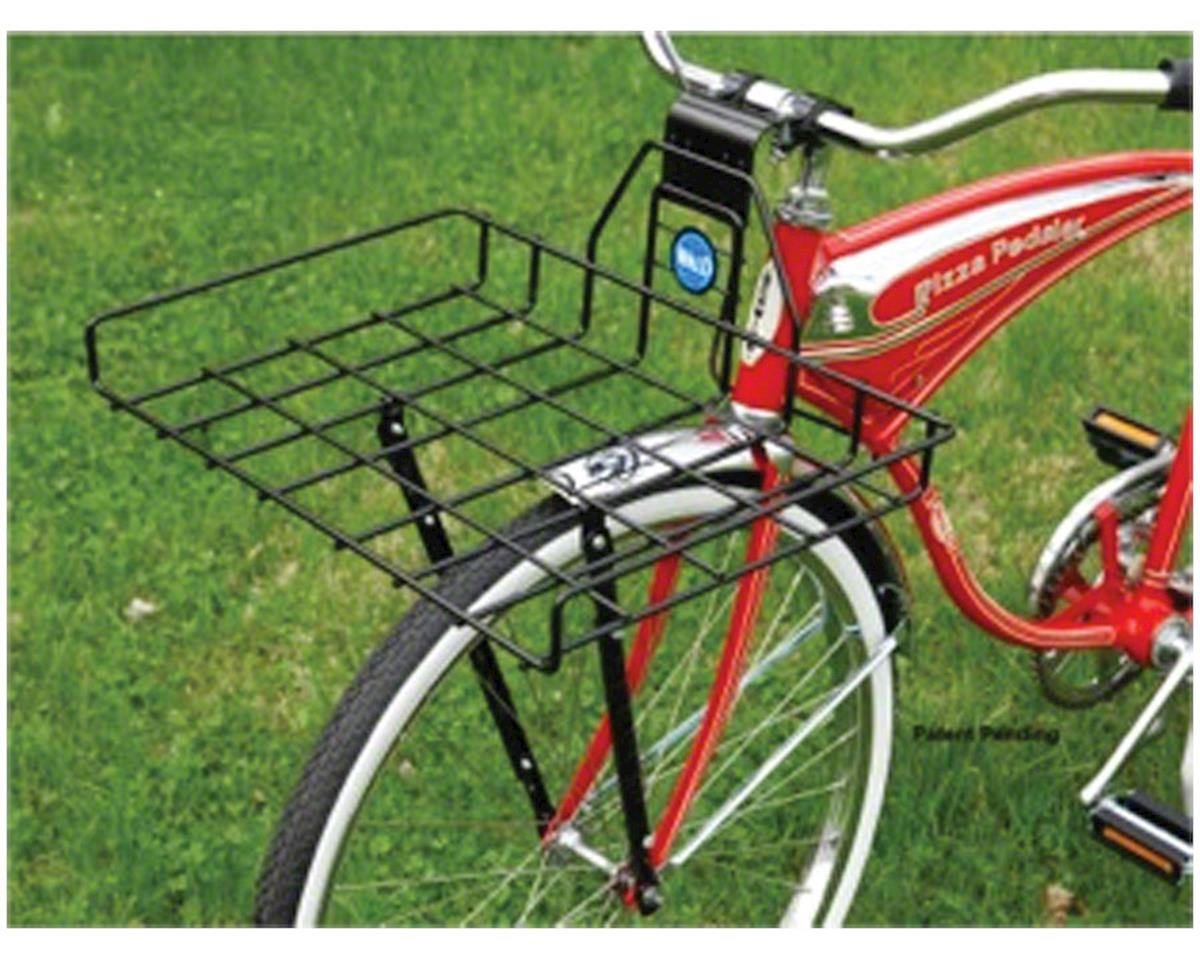 Wald 257 Ewald's Multi-Fit Front Rack (Gloss Black)