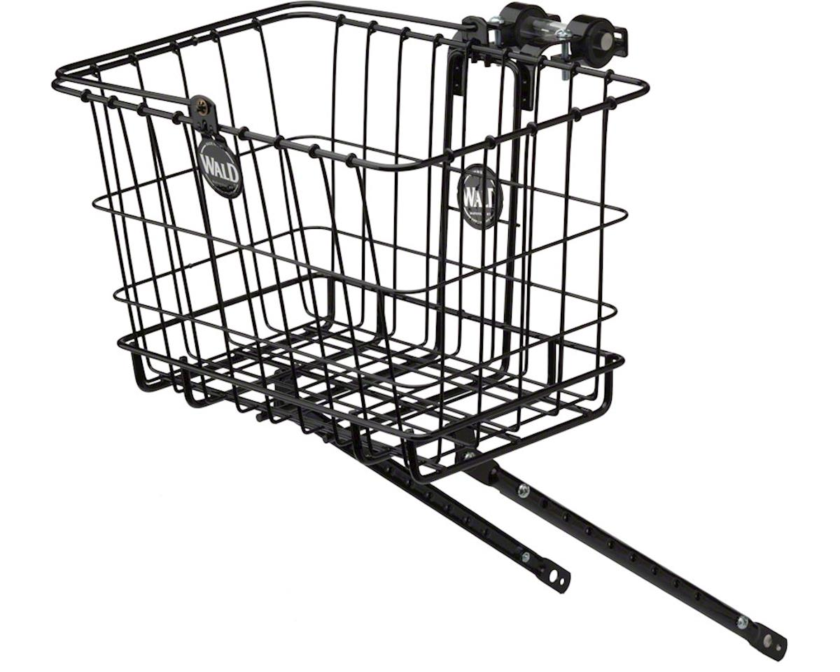Wald 3339 Multi-fit Rack and Basket Combo: Gloss Black