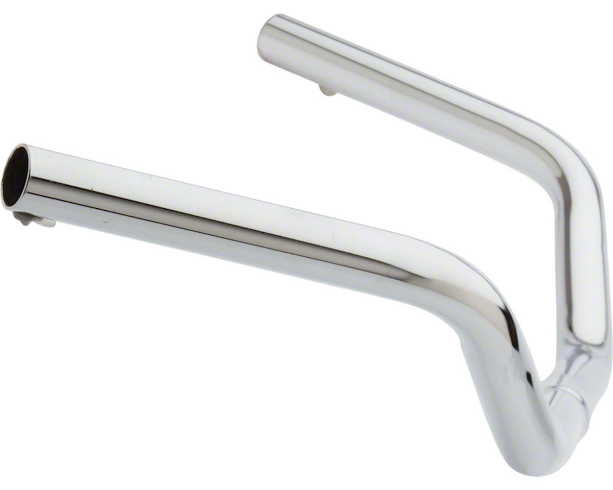 "Image 2 for Wald 872 Cruiser Steel Handlebar:  24"" Wide, 3"" Rise, 1"" Clamp, Chrome"