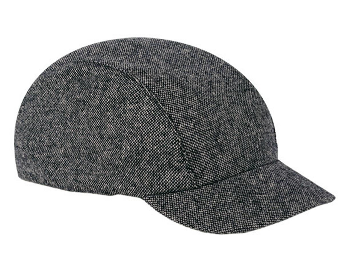 Walz Caps Wool Urban Collection Cycling Cap (Black Tweed) (S/M)