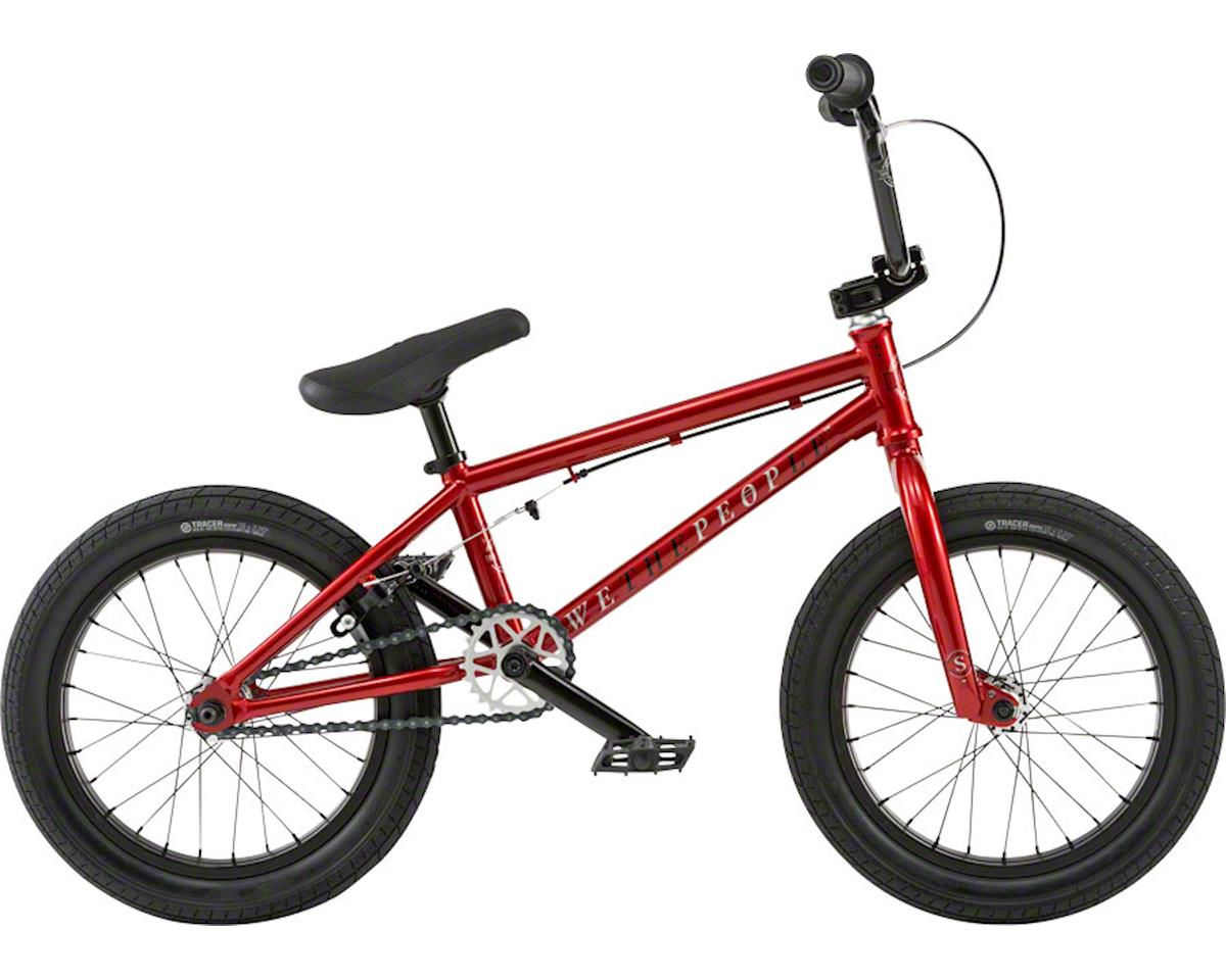 """We The People Seed 16"""" 2018 Complete BMX Bike 16"""" Top Tube Red"""