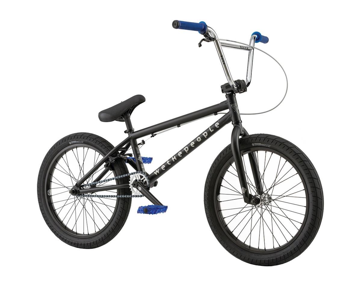 "We The People Nova 20"" 2018 Complete BMX Bike 20"" Top Tube Matte Black"