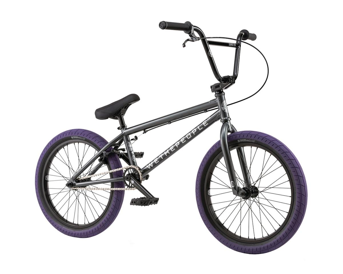"We The People CRS 20"" 2018 Complete BMX Bike 20.25"" Top Tube Anthracite"