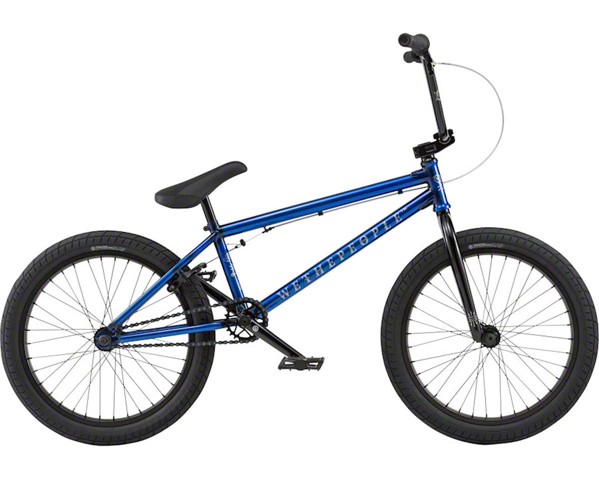 """We The People Arcade 20"""" 2018 Complete BMX Bike 20.5"""" Top Tube Translucent Blue"""