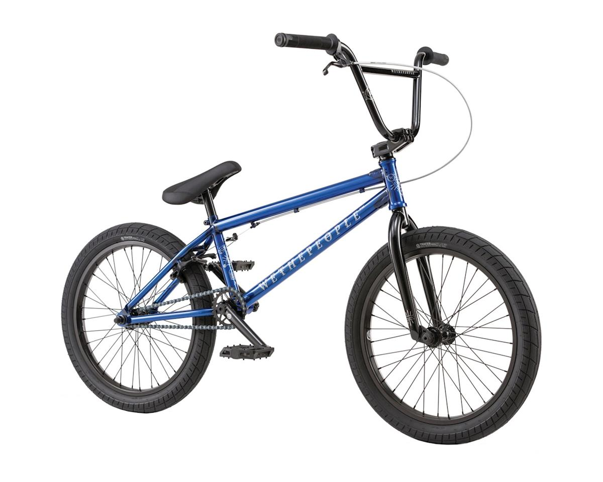 """We The People Arcade 20"""" 2018 Complete BMX Bike 21"""" Top Tube Translucent Blue"""