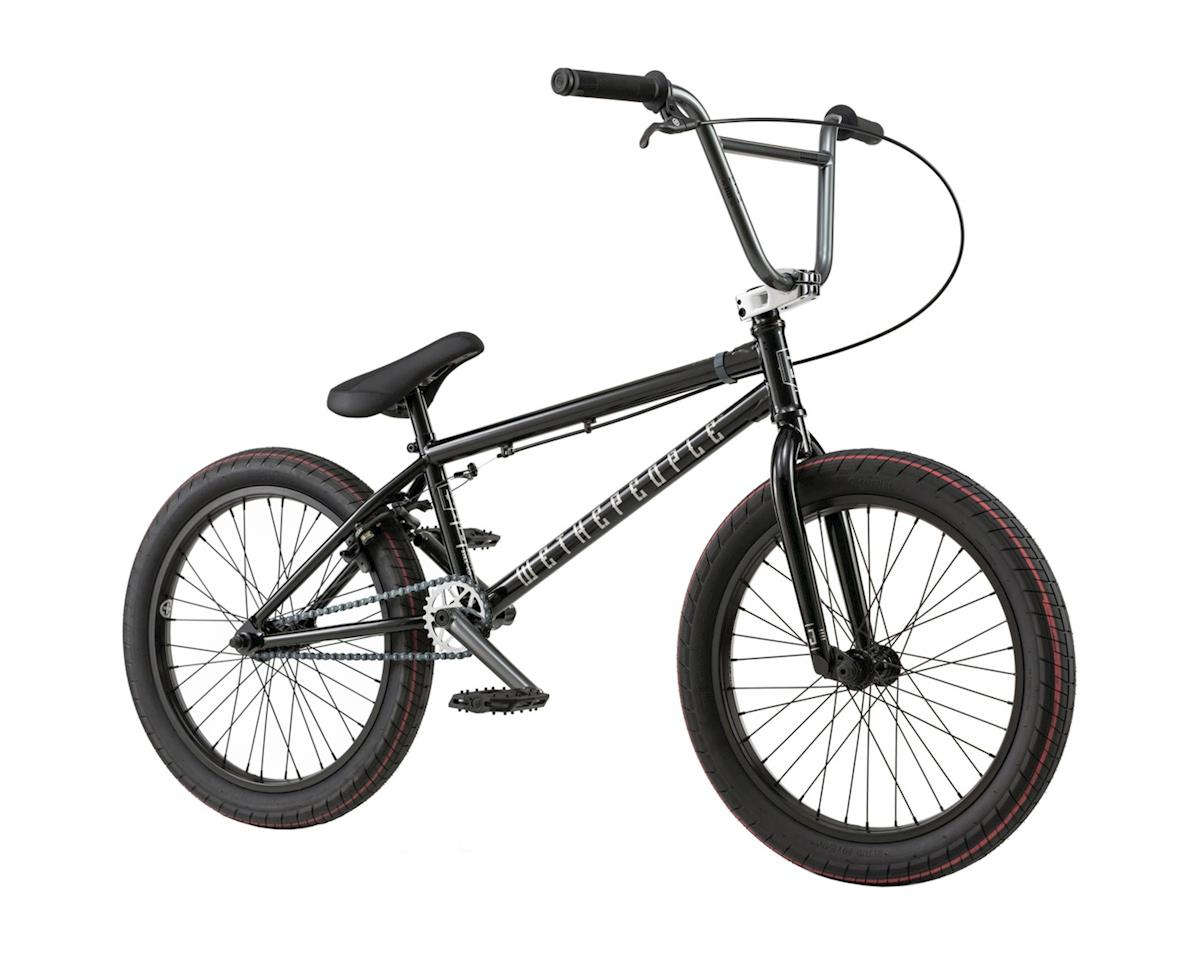 """We The People Justice 20"""" 2018 Complete BMX Bike 20.75"""" Top Tube Graphite Black"""
