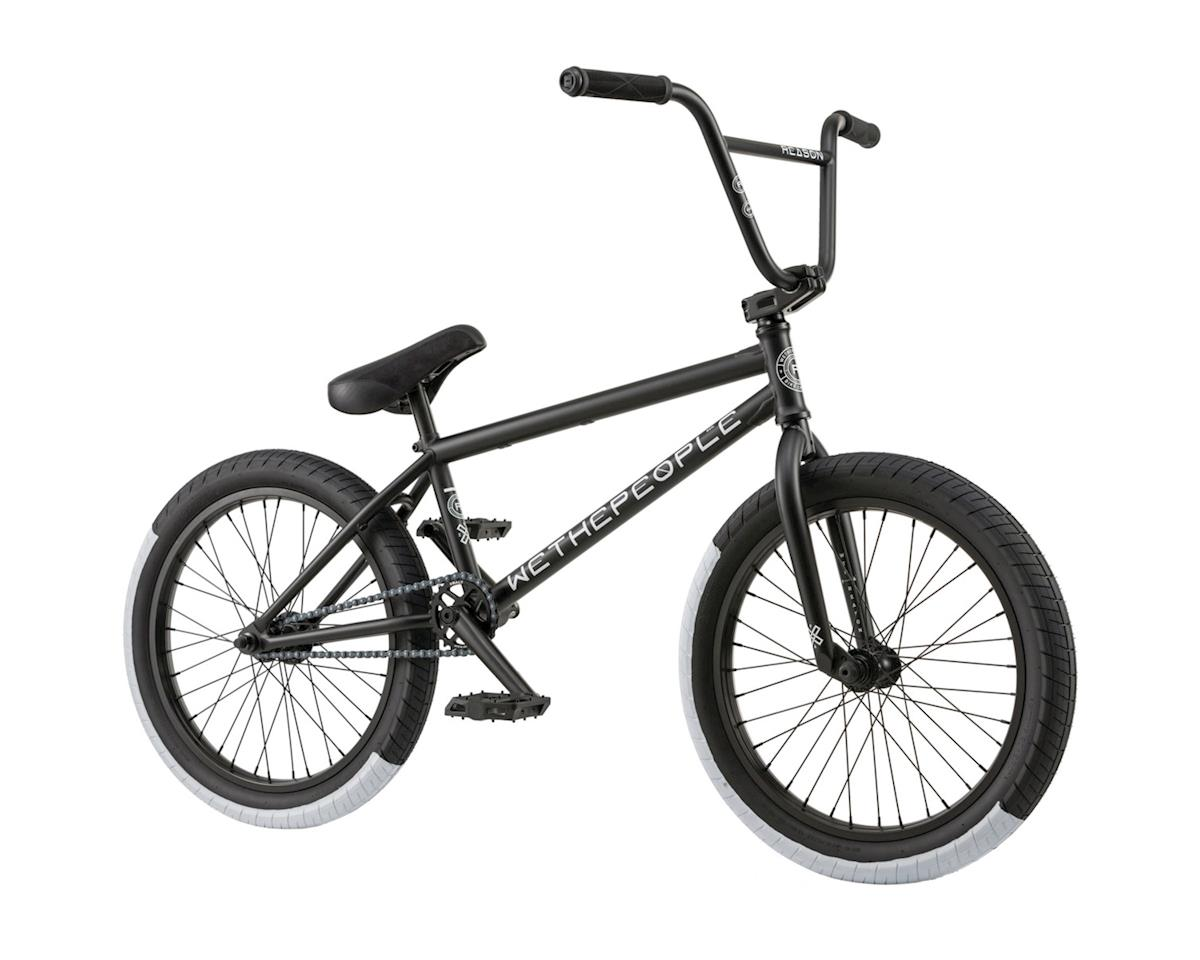 "Reason 20"" 2018 Complete BMX Bike 20.75"" Top Tube Matte Black"