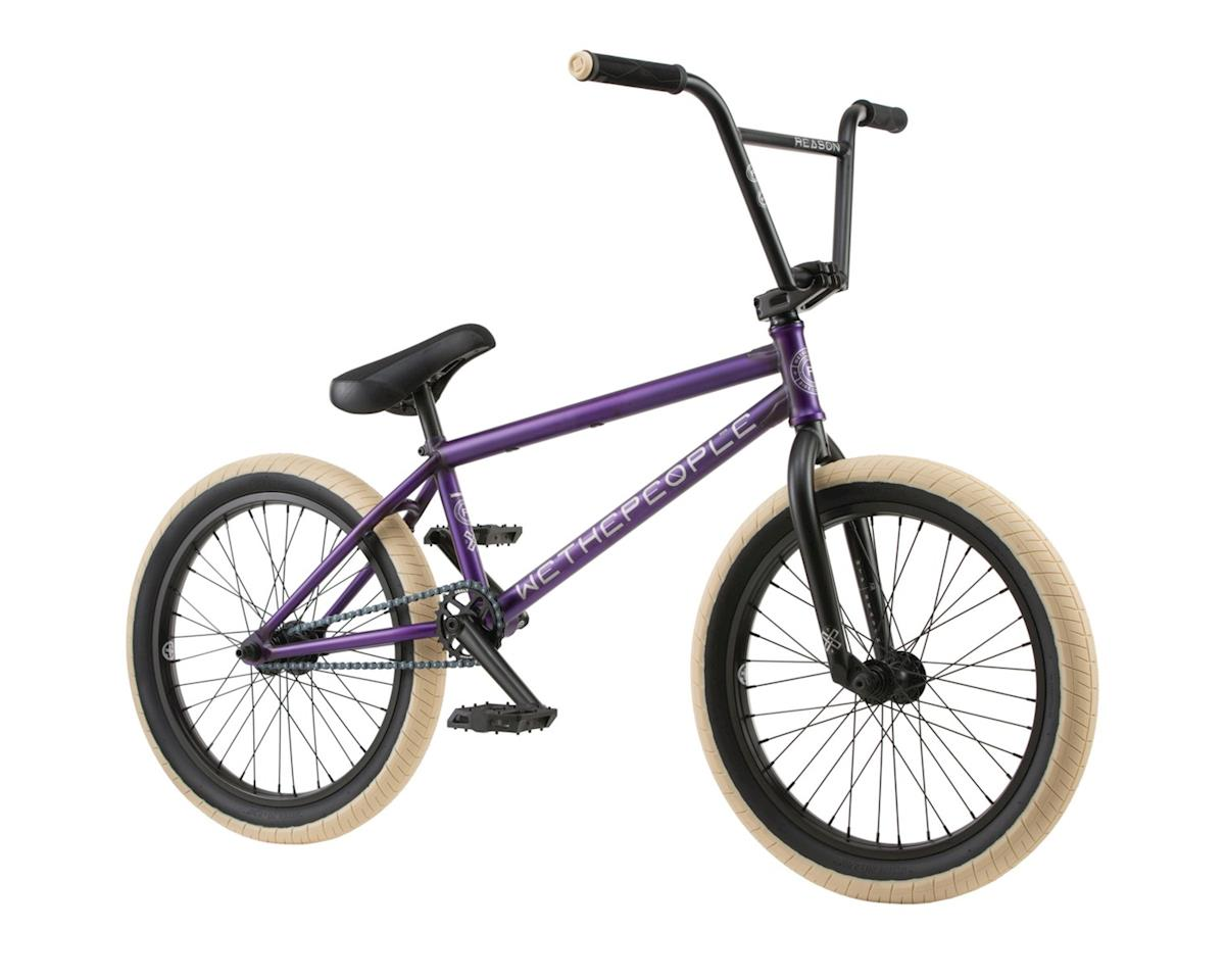 "Reason Freecoaster 20"" 2018 Complete BMX Bike 20.75"" Top Tube Matt"