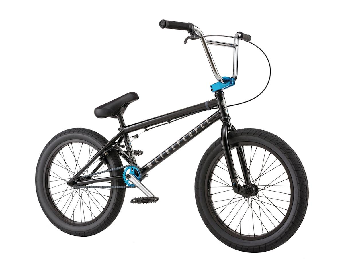 """We The People Crysis 20"""" 2018 Complete BMX Bike 21"""" Top Tube Glossy Black"""