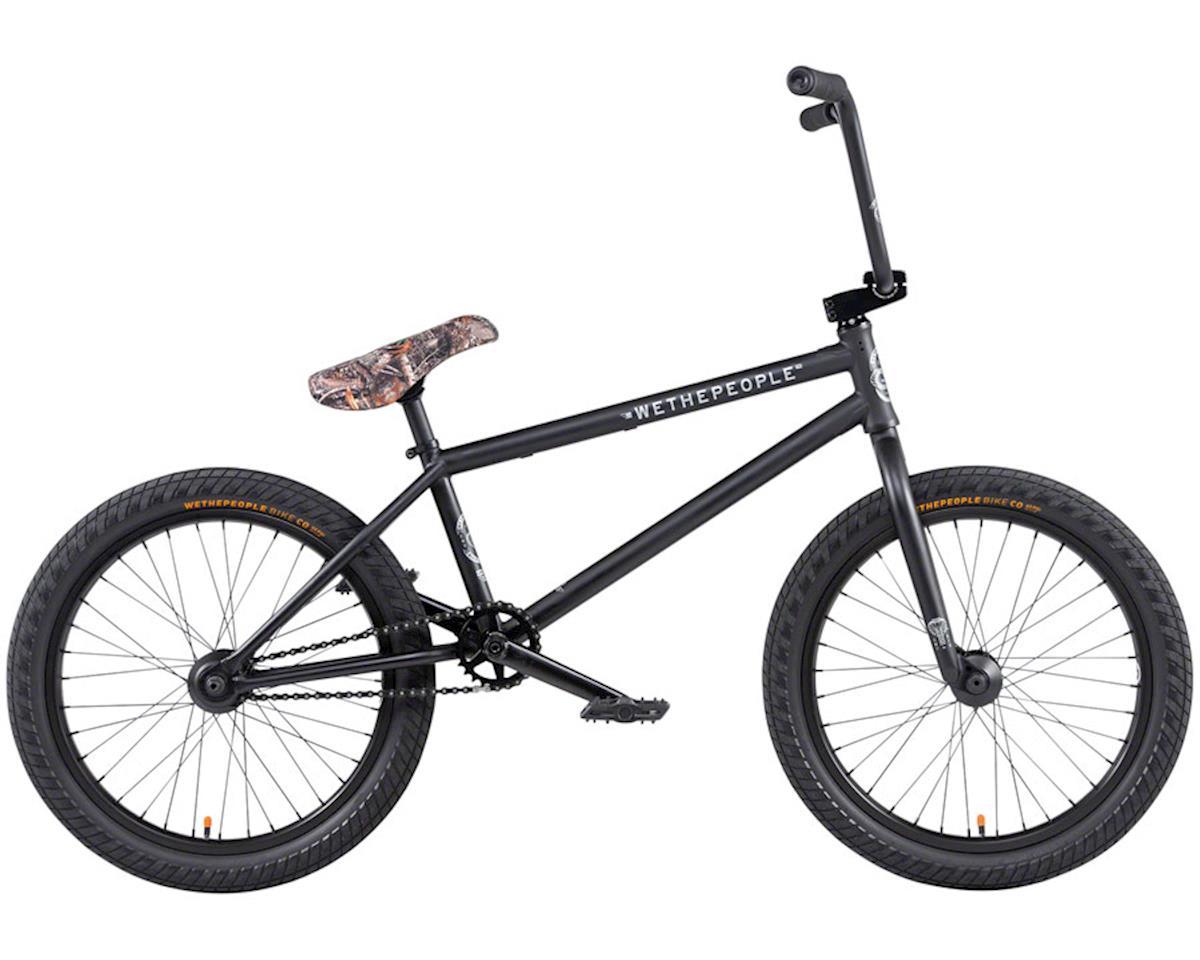 """We The People 2020 Crysis BMX Bike (21"""" Toptube) (Matte Black)"""