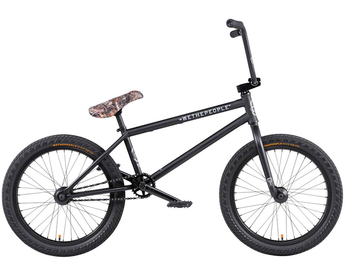 "We The People 2020 Crysis BMX Bike (21"" Toptube) (Matte Black) 
