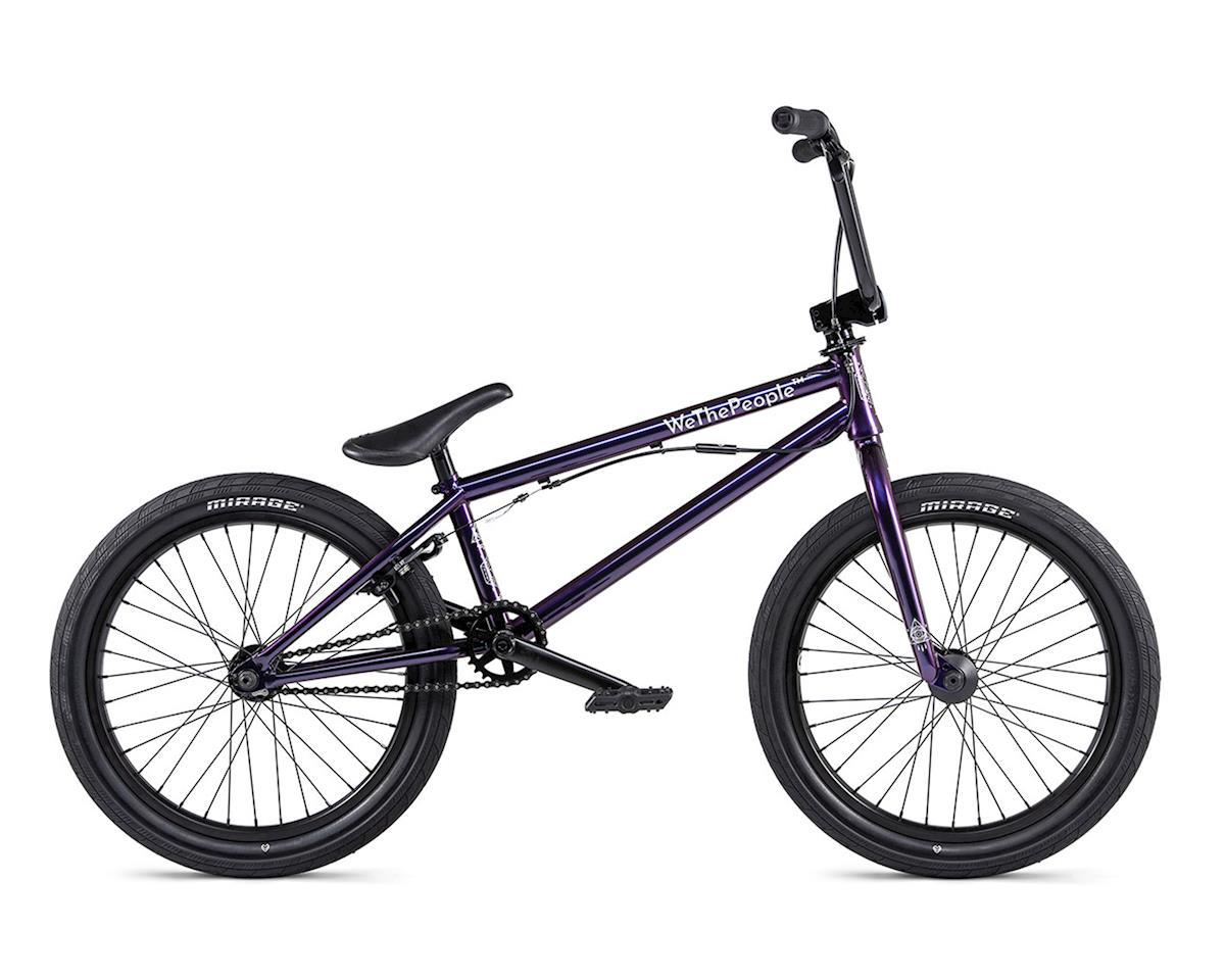 "We The People 2020 Versus BMX Bike (20.65"" Toptube) (Wizard Black) 