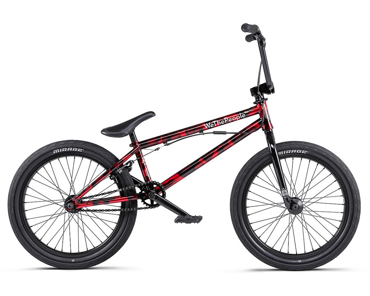 "We The People 2020 Versus BMX Bike (20.65"" Toptube) (Brushed Metallic Red) 