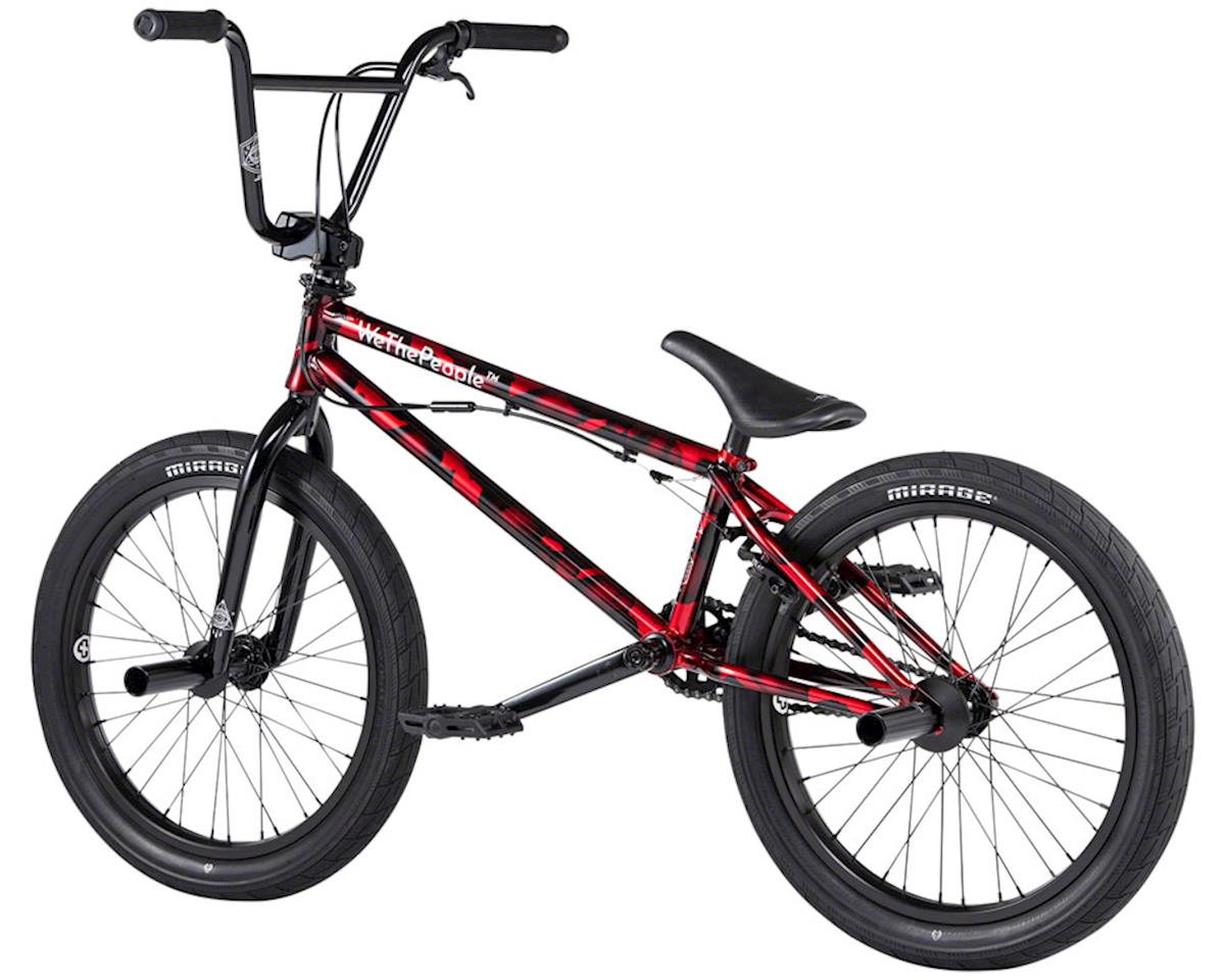 "Image 2 for We The People 2020 Versus BMX Bike (20.65"" Toptube) (Brushed Metallic Red)"