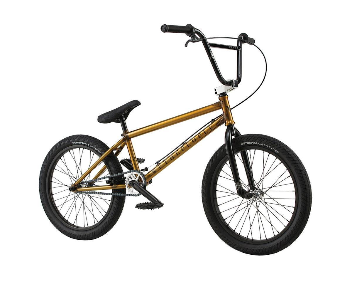"We The People Volta 20"" 2018 Complete BMX Bike 21.15"" Top Tube Translucent Honey"