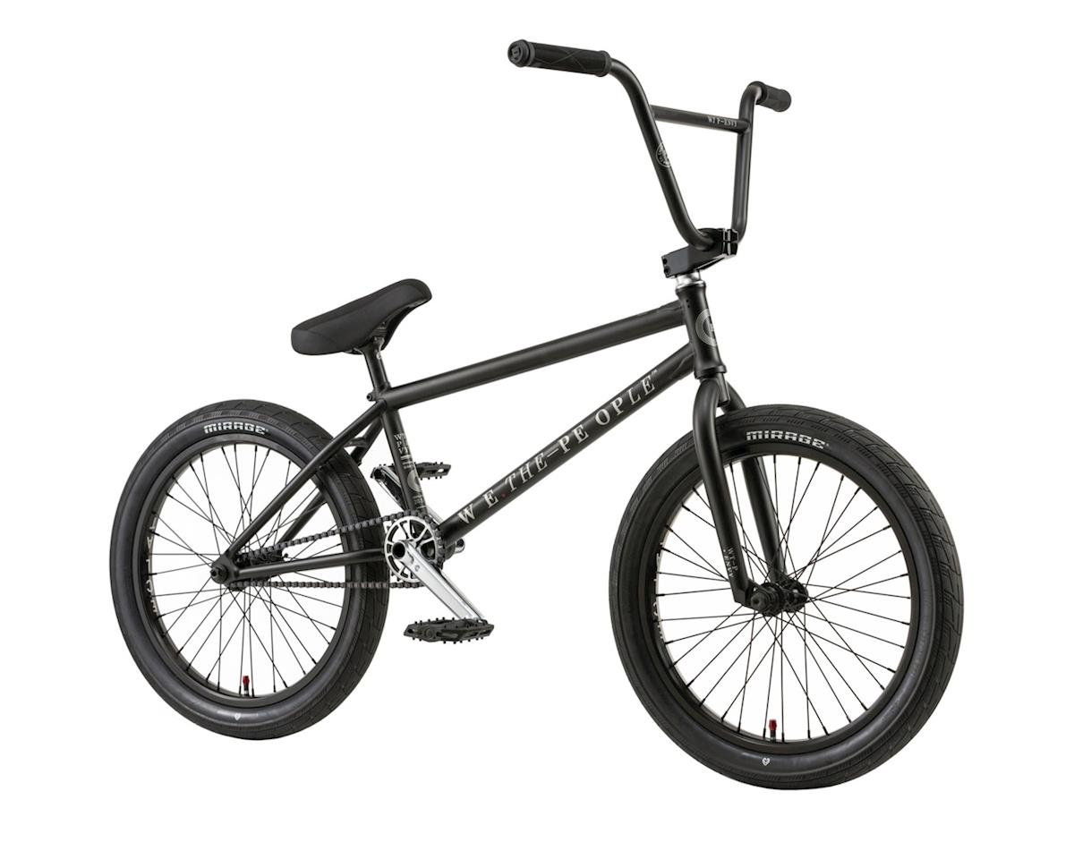 "We The People Envy 20"" 2018 Complete BMX Bike 21"" Top Tube Matte Black"