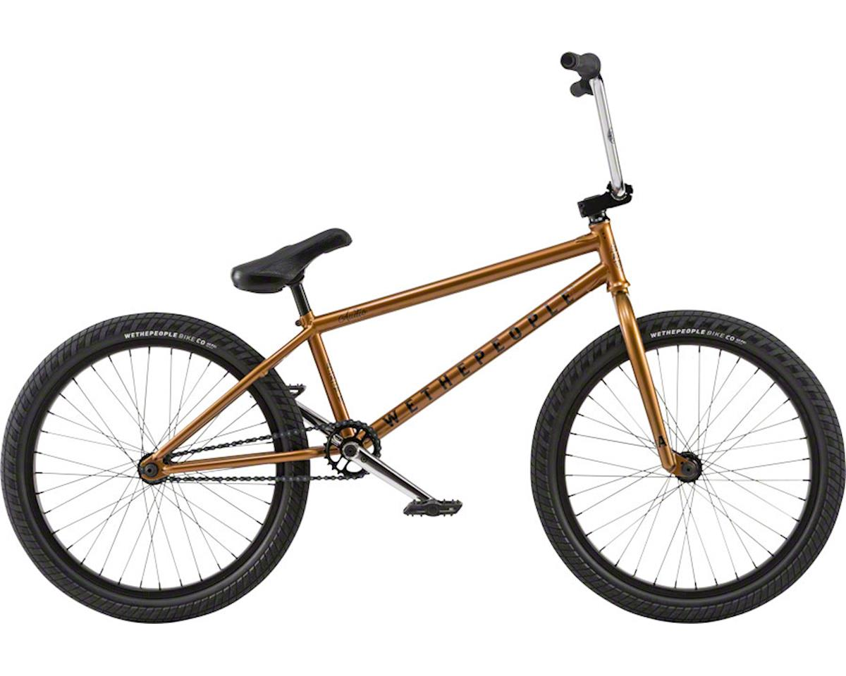 """We The People Audio 22"""" 2018 Complete BMX Bike 21.9"""" Top Tube Black Copper"""