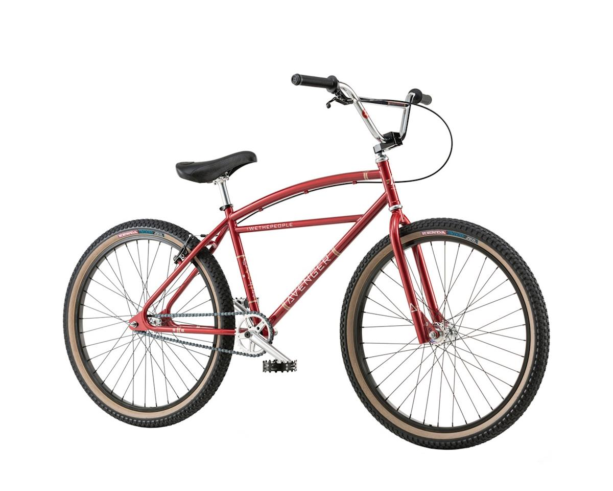 "We The People Avenger 26"" 2018 Complete BMX Bike 23.15"" Top Tube Candy Red"