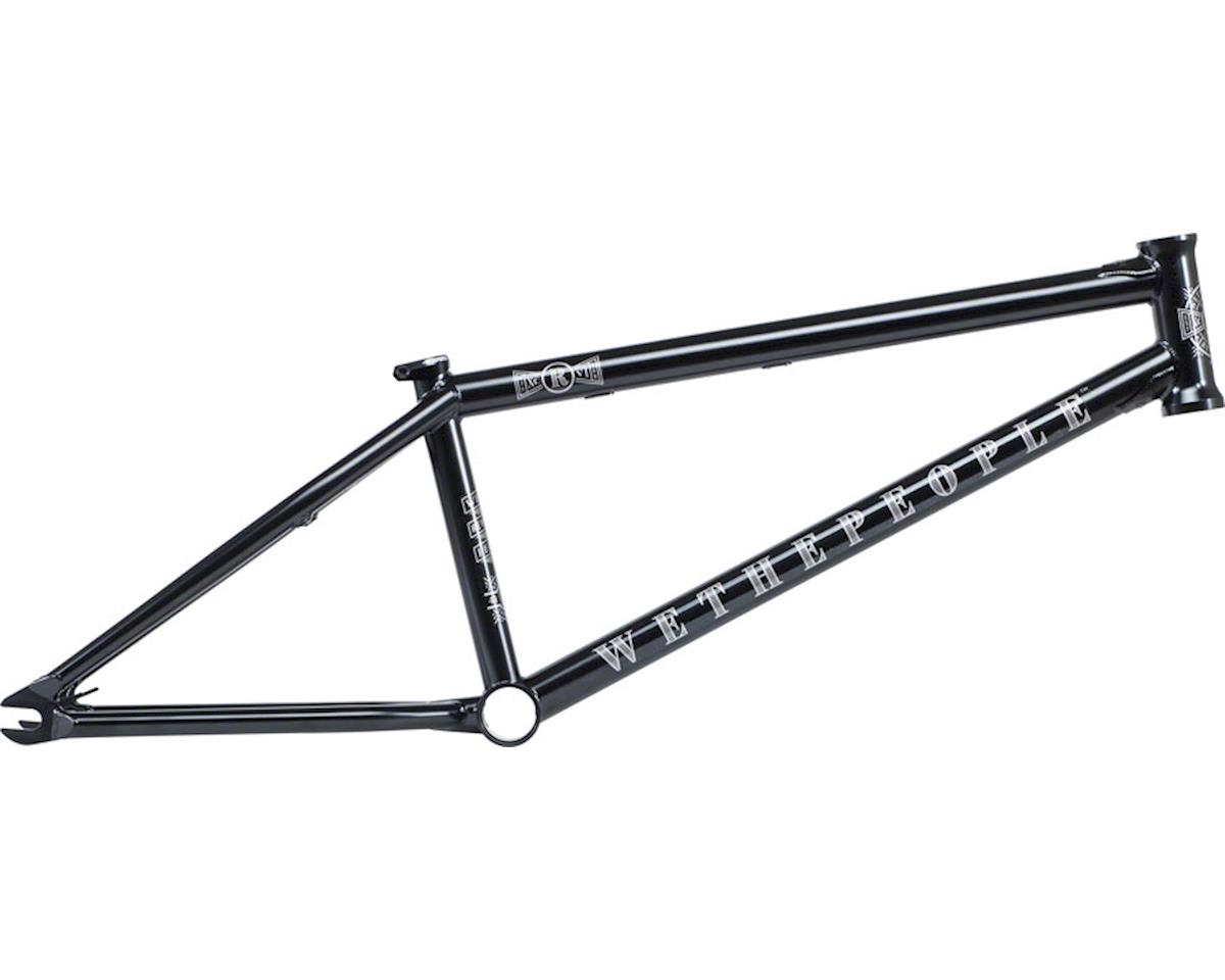 "We The People Revolver BMX Frame -  21.25"" TT,  Glossy Black ED"