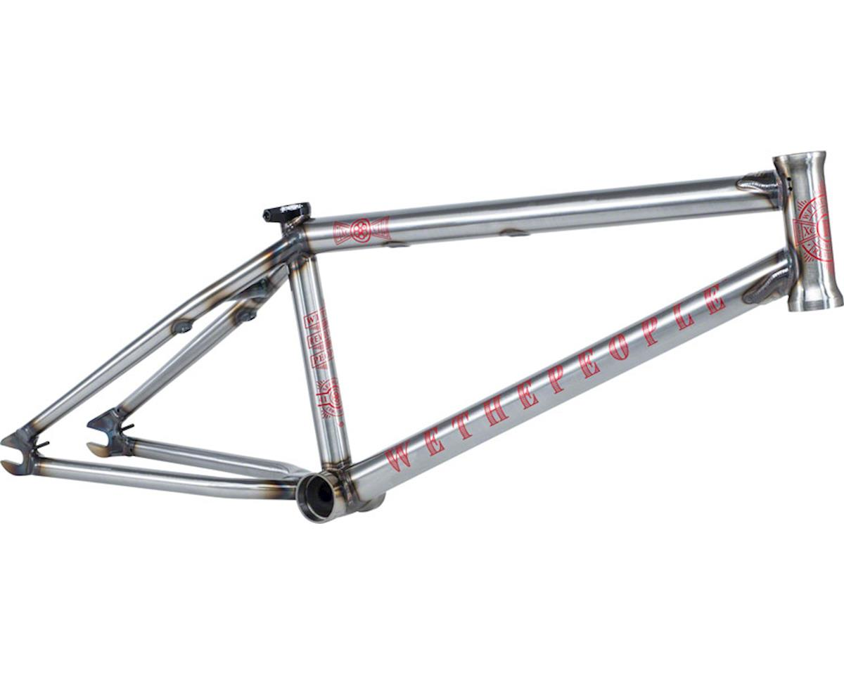 "We The People Revolver BMX Frame -  21.25"" TT,  Glossy Raw"