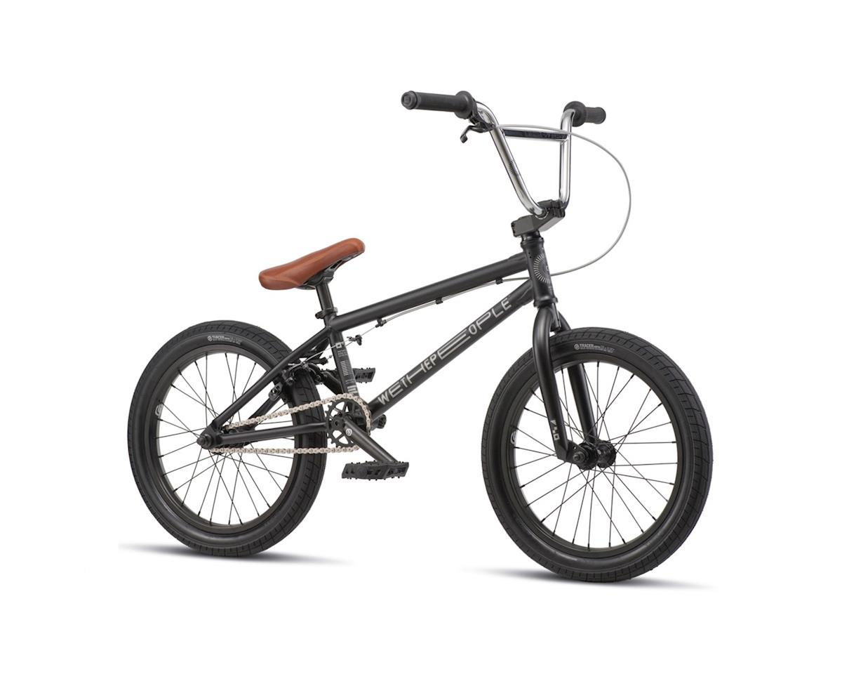 "We The People 2019 CRS 18"" BMX Bike (18"" Toptube) (Matte Black) 