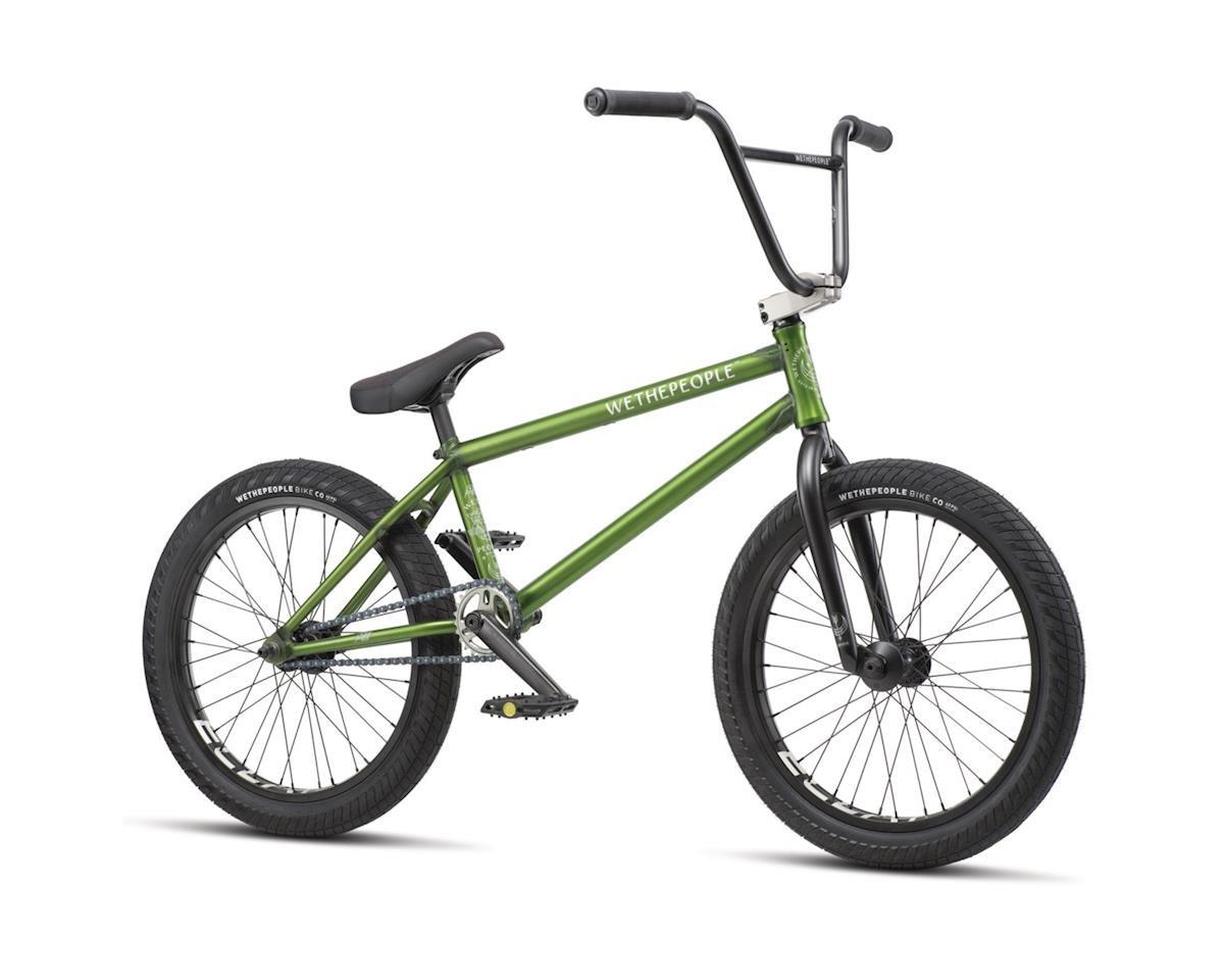 """We The People 2019 Crysis BMX Bike (20.5"""" Toptube) (Translucent Olive)"""