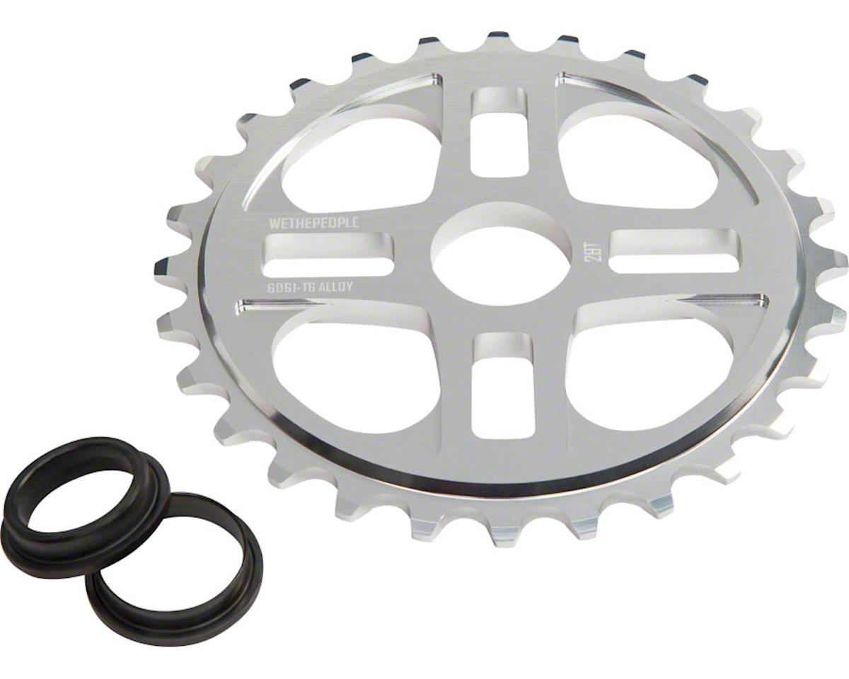 4Star Sprocket 28t High Polished 23.8mm Spindle Hole With Adaptors
