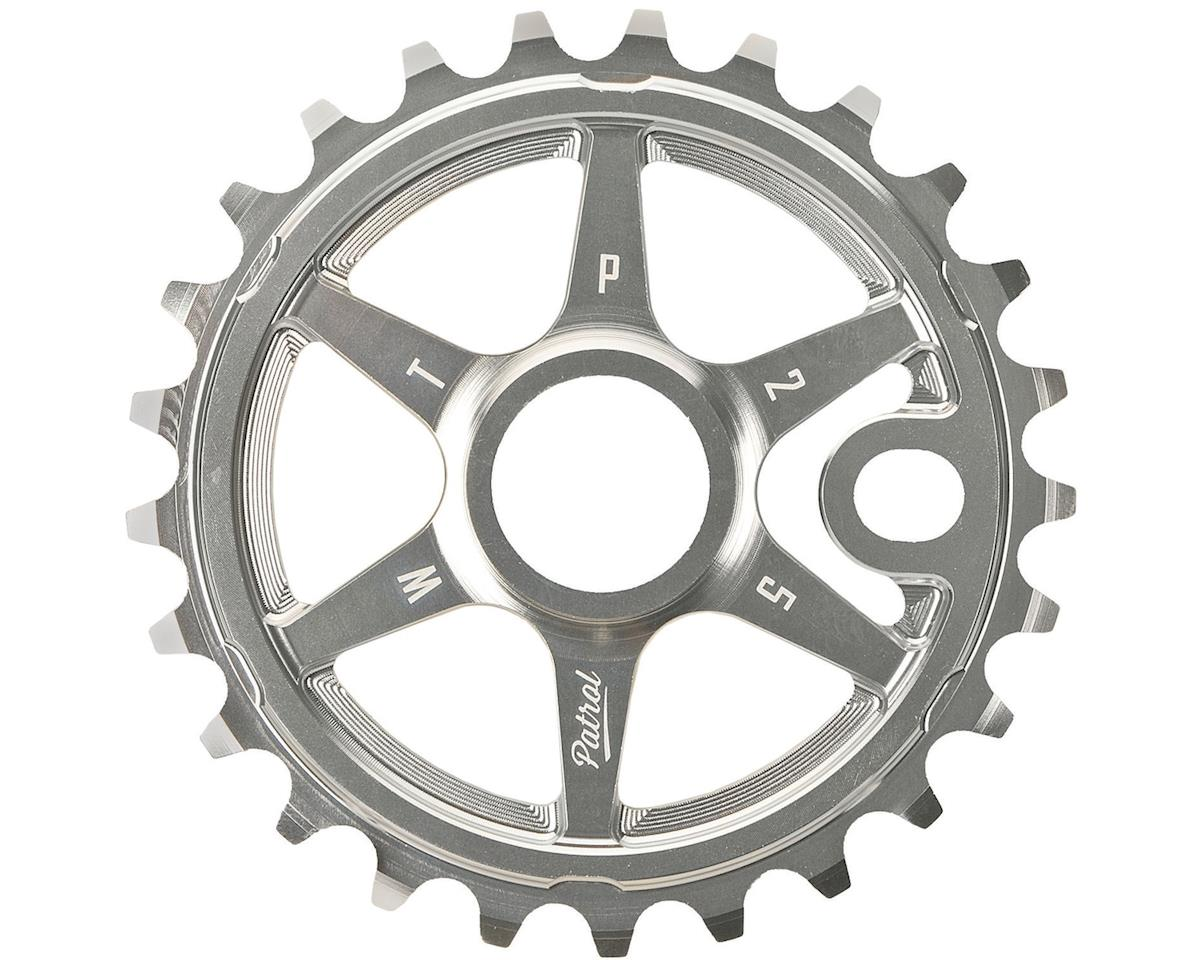 Patrol Sprocket 25t High Polished 23.8mm Spindle Hole With Adaptor