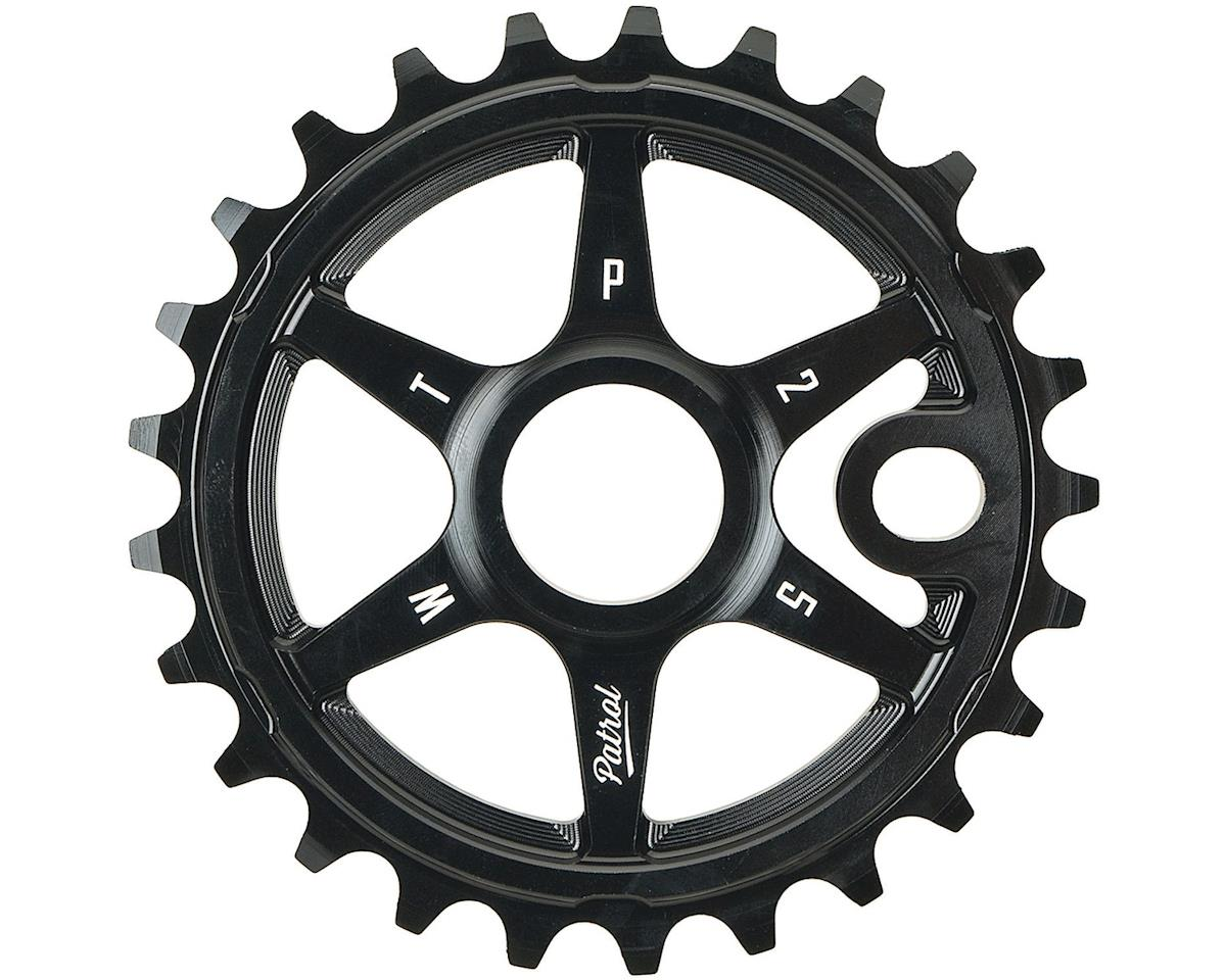 Patrol Sprocket 28t Black 23.8mm Spindle Hole With Adaptors for 19
