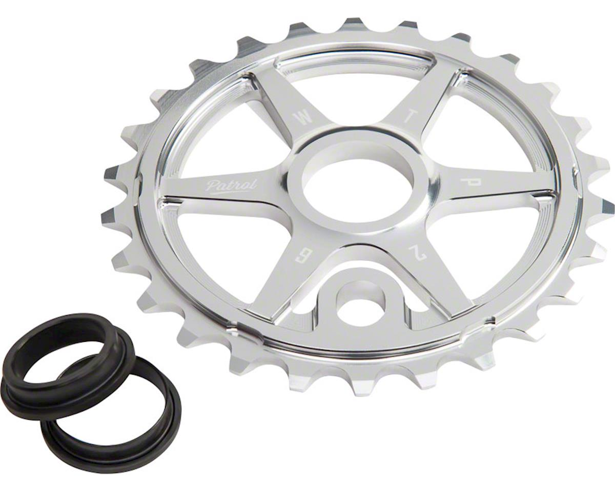 Patrol Sprocket 30t High Polished 23.8mm Spindle Hole With Adaptor
