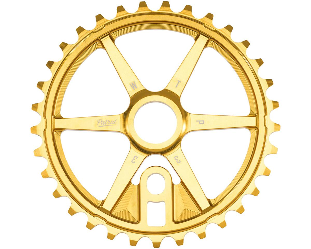 Patrol Sprocket 30t Gold 23.8mm Spindle Hole With Adaptors for 19m