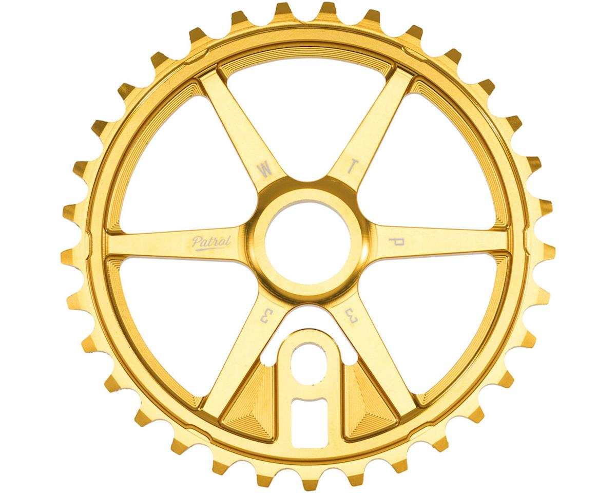 Patrol Sprocket 33t Gold 23.8mm Spindle Hole With Adaptors for 19m