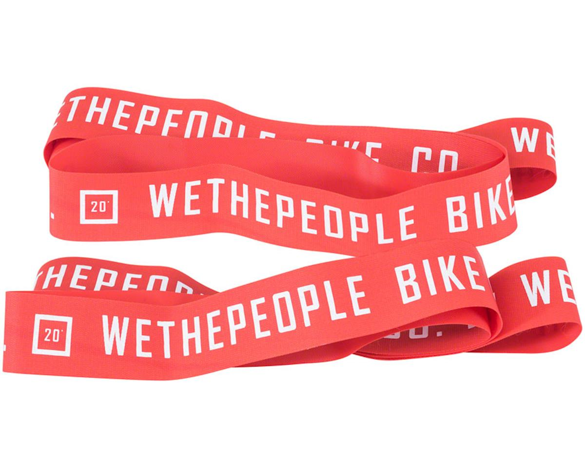 "We The People Nylon 20"" Rim Tape Set, Red"