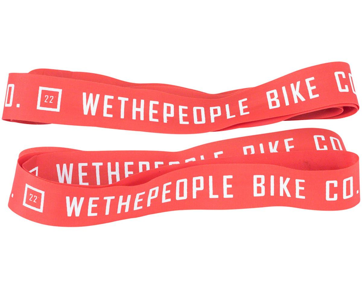"We The People Nylon 22"" Rim Tape Set, Red"