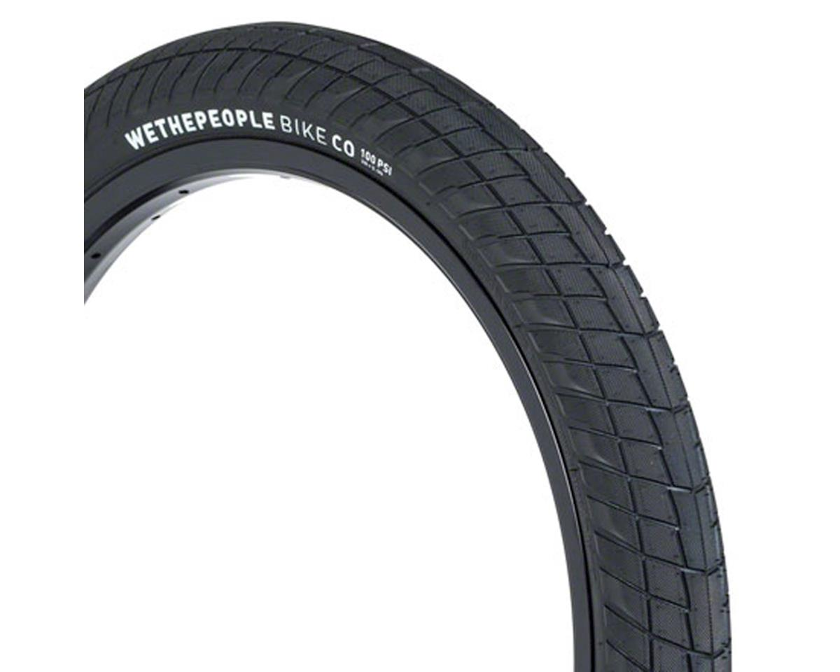We The People Overbite Tire - 22 x 2.3, Clincher, Wire, Black