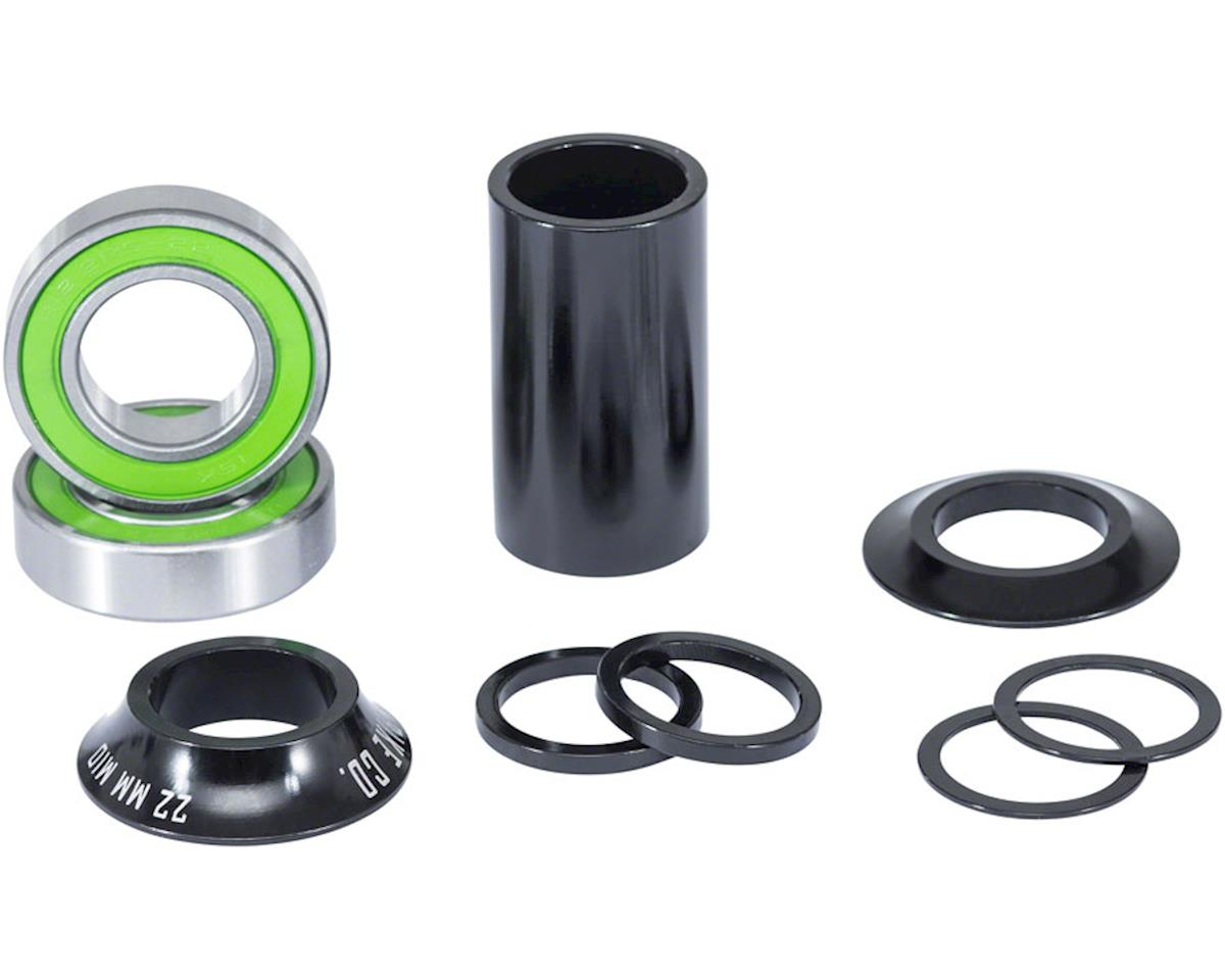 We The People Compact Mid Bottom Bracket For 22mm Spindle Black