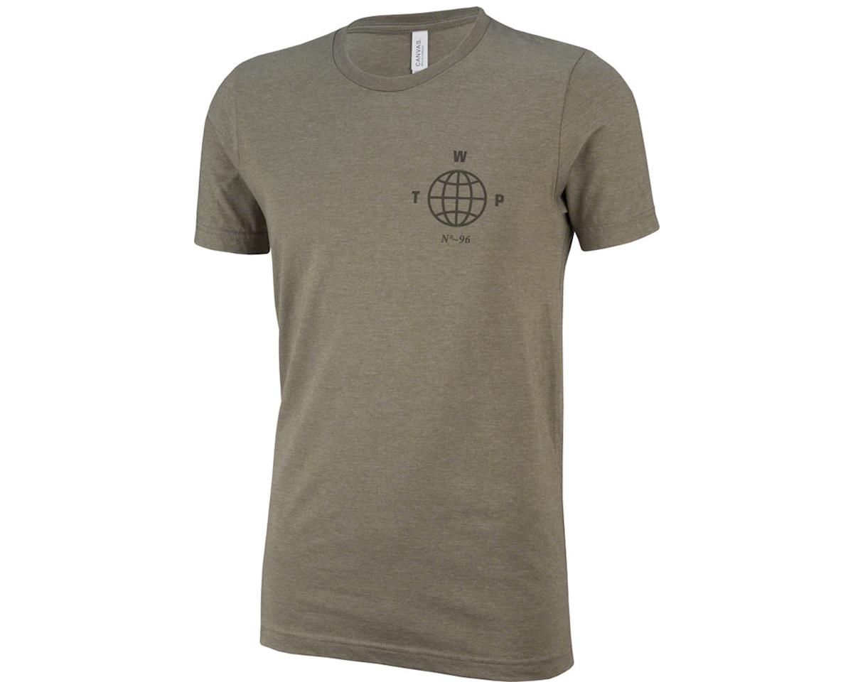 We The People Globe T-Shirt: Heather Olive 2XL