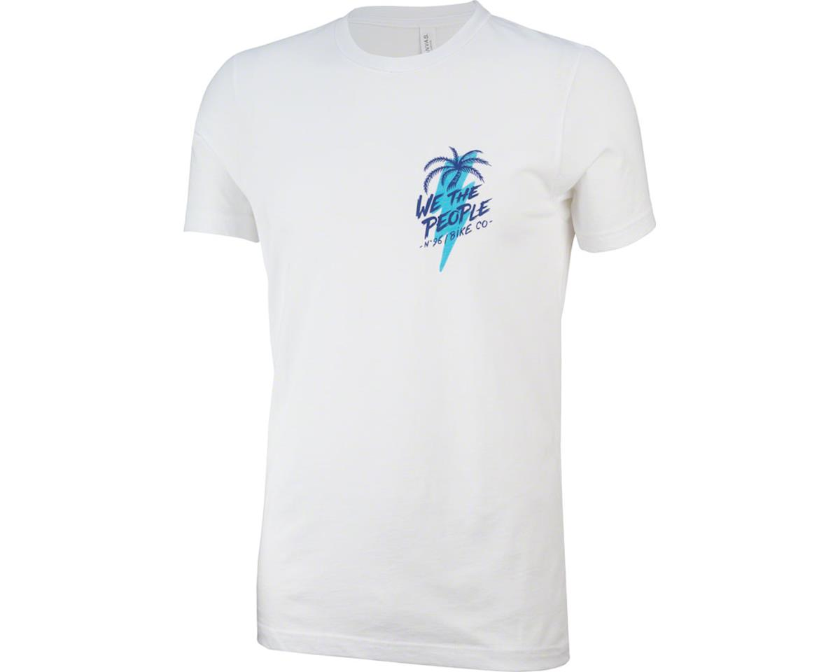 We The People x Fluor South Beach T-Shirt: White 2XL