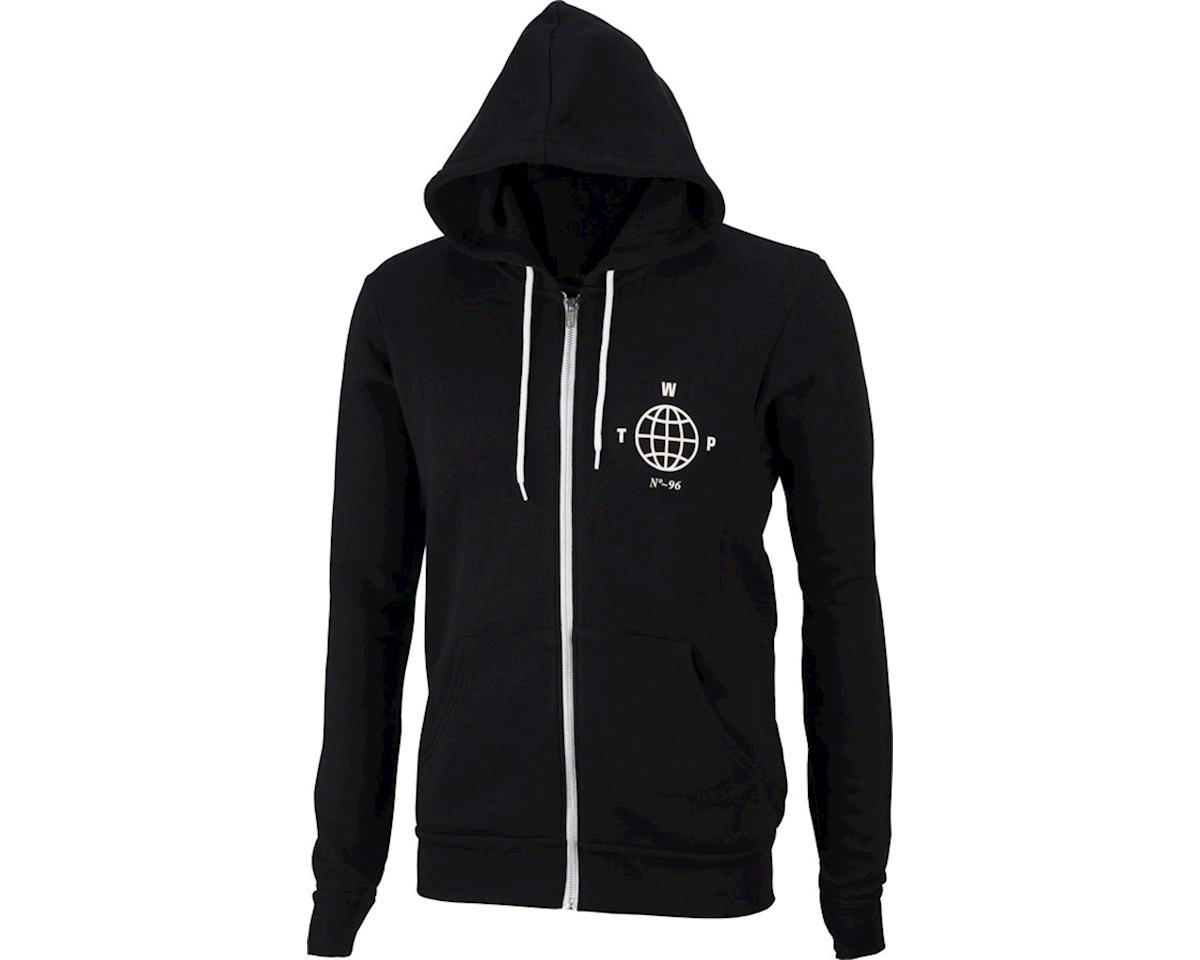 We The People Globe Full Zip Hoodie: Black 2XL