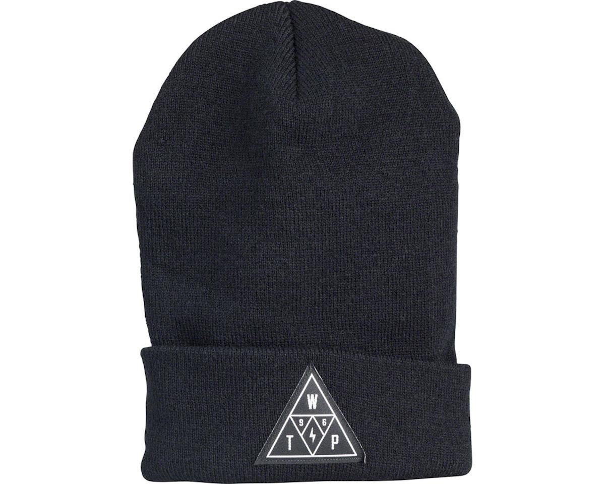 We The People Triangle Beanie: Black One Size