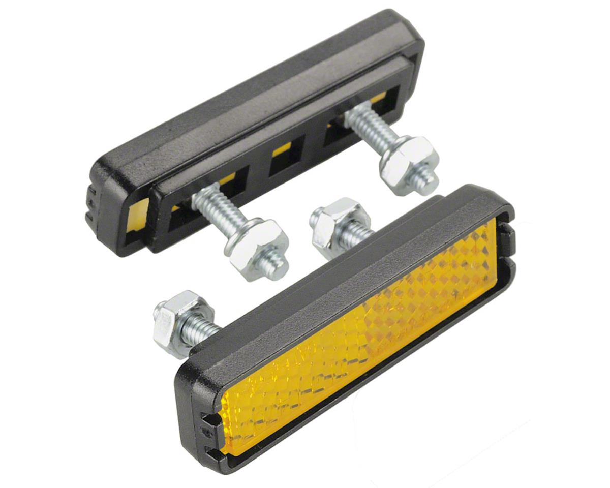 Wellgo Bolt-on Pedal Reflector Set